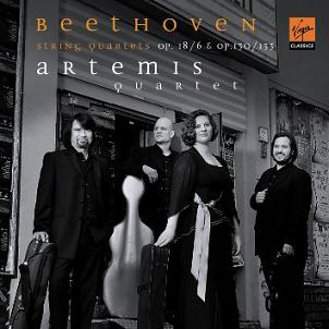 Erato 貝多芬:弦樂四重奏第6號、第13號、大賦格[Beethoven: String Quartet Op.18/6 & Op.130/133]【1CD】