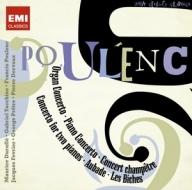 EMI 杜呂菲(Pierre Dervaux)/蒲朗克:協奏曲作品集[Poulenc: Concertos, Aubade, Les Biches]【2CDs】