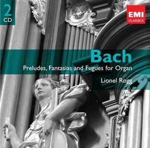 EMI 萊翁諾洛格(Lionel Rogg)/《雙子星系列》巴哈:管風琴前奏曲、幻想曲與賦格[Bach: Preludes, Fantasias and Fugues for Organ]【2CDs】