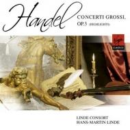 Virgin 漢斯-馬丁.林德(Hans-Martin Linde)/韓德爾:大協奏曲,作品三前六曲[Haendel:Concerti grossi, Op.3]【1CD】