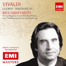 EMI 慕提(Riccardo Muti)/大師原典系列60 - 韋瓦第:聖母讚美歌、光榮讚[Vivaldi: Gloria & Magnificat]【1CD】
