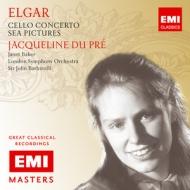 EMI 杜普蕾(Jacqueline du Pré)/大師原典系列7 - 杜普蕾演奏艾爾加大提琴協奏曲[EMI Masters 7 - Elgar: Cello Concerto; Sea Pictures]【1CD】