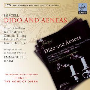 Virgin歌劇帝國系列 艾曼紐.艾姆(Haim)、蘇珊葛蘭姆(Graham)、博斯崔吉(Bostridge)/菩賽爾:黛朵與伊尼亞斯(Purcell: Dido and Aeneas)【1CD+1CD-R】