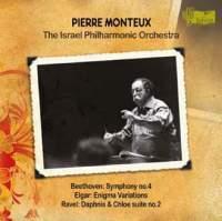 【小閔的古典音樂世界】helicon 蒙都(Pierre Monteux)/貝多芬:第4號交響曲、艾爾加:謎之變奏曲、拉威爾:達芙妮與克羅伊第2號組曲(Beethoven:Symphony No.4 / Elgar:Enigma Variations / Ravel:Daphnis et Chloé-Suite No.2)【1CD】
