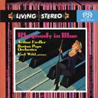 SONYBMG 懷爾德&費德勒/蓋希文:藍色狂想曲、F大調鋼琴協奏曲、一個美國人在巴黎、我找到了節奏、古巴序曲【1SACD】