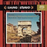 SONYBMG 孟許/孟德爾頌:第四號交響曲「義大利」、第五號交響曲、八重奏:詼諧曲【1SACD】