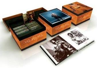 【小閔的古典音樂世界】SONYBMG 馬友友(Yo-Yo Ma)/馬友友:30周年錄音全記錄大套裝[Yo-Yo Ma 30 Years Outside The Box]【90CDs】【限量發行】