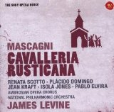 SONYBMG 歌劇殿堂50/李汶(James Levine)、多明哥(Placido Domingo)/馬斯康尼:鄉間騎士(Mascagni:Cavalleria Rusticana)【1CD】