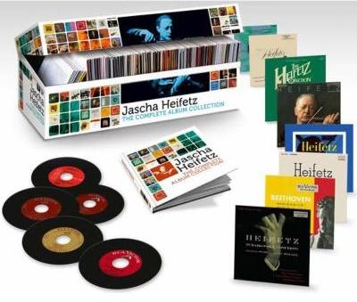 SONYBMG 海飛茲-大全集(Jascha Heifetz-The Complete Album collection)【103CDs+1DVD】
