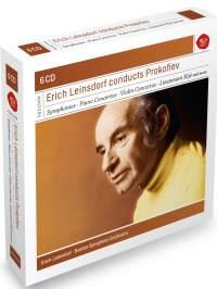 SONY∮BMG 萊恩斯朵夫(Erich Leinsdorf)/典範大師套裝系列24 - 萊恩斯朵夫指揮普羅高菲夫[Erich Leinsdorf conducts Prokofiev]【6CDs】