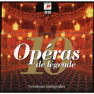 【小閔的古典音樂世界】SONY 歌劇傳奇[Opéras, de légende]【25CDs】