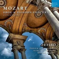 【小閔的古典音樂世界】SONY 貝爾納迪尼(Alfredo Bernardini)/莫札特:雙簧管與巴松管協奏曲[Mozart:Oboe And Bassoon Concerti]【1CD】