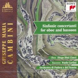 【小閔的古典音樂世界】SONY 加齊(Diego Dini Ciacci)&卡里尼(Paolo Carlini)/坎比尼:雙簧管與巴松管交響協奏曲[Cambini: Sinfonie Concertanti For Oboe and Bassoon]【1CD】