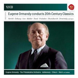 【小閔的古典音樂世界】SONY 《典範大師套裝系列57》尤金‧奧曼第(Eugene Ormandy)/尤金‧奧曼第指揮二十世紀作品集[Eugene Ormandy conducts 20th Century Classics ]【12CDs】