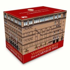 【小閔的古典音樂世界】SONY 霍洛維茲紐約卡內基廳實況錄音大全集[Vladimir Horowitz live at Carnegie Hall]【41CDs+1DVD】