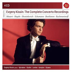 SONY 紀新:鋼琴協奏曲錄音全集[Evgeny Kissin: The Complete Concerto Recordings]【4CDs】