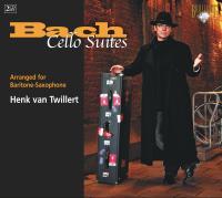 Brilliant 特威勒特/上低音薩克斯風的巴哈無伴奏大提琴組曲【2CDs】