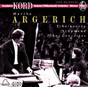 【小閔的古典音樂世界】CD ACCORD 阿格麗希&KORD/柴可夫斯基、舒曼:鋼琴協奏曲etc.【1CD】