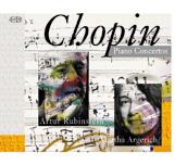 CD ACCORD 魯賓斯坦、阿格麗希/蕭邦:第1、2號鋼琴協奏曲【1CD】