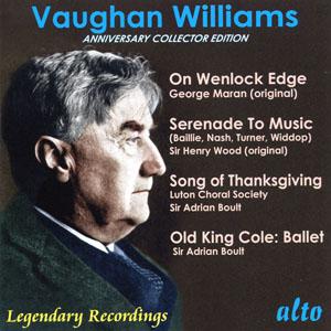 alto 包特(Adrian Boult)/佛漢‧威廉士:在溫洛克斷崖、老柯爾王、感恩歌、為音樂的小夜曲[Vaughan Williams: Anniversary Collector's Edition]【1CD】