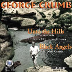 【小閔的古典音樂世界】BRIDGE 喬治.克朗(George Crumb)作品全集第七集[George Crumb:The Complete Crumb Edition, Volume 7 - Unto the Hills and Black Angels]【1CD】