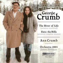 【小閔的古典音樂世界】BRIDGE 喬治.克朗(George Crumb)作品全集第十集[George Crumb:The Complete Crumb Edition, Volume 10 - The River of Life, Unto the Hills]【2CDs】