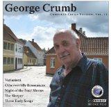 【小閔的古典音樂世界】BRIDGE 喬治.克朗(George Crumb)作品全集第11集[George Crumb:The Complete Crumb Edition, Volume 11 - Variazioni, Otherworly Resonancesno, The Sleeper, Three Early Songs, Night of the Four Moons]【1CD】