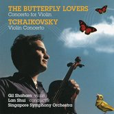 Canary Classics 夏漢演奏梁祝小提琴協奏曲&柴可夫斯基(The Butterfly Lovers' Violin Concerto & Tchaikovsky Violin Concerto)【1CD】