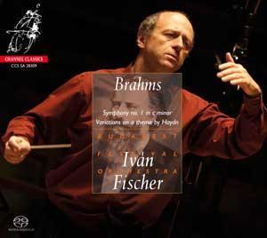 CHANNEL 伊凡費雪(Iván Fischer)/布拉姆斯:交響曲第一號[Brahms: Symphony no. 1]【1SACD】