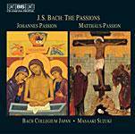 BIS 鈴木雅明(Masaaki Suzuki)/巴哈:受難曲集[Bach:The Passions]【5CDs】