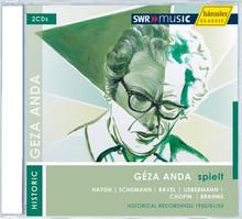 hänssler 安達(Géza Anda)1950/51/55年歷史錄音作品[Géza Anda plays Haydn, Schumann, Ravel, Liebermann, Brahms, Chopin]【2CDs】