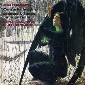 hyperion 哈特曼:送葬協奏曲[Hartmann: Concerto funebre、Sonatas & Suites for Solo Violin]【1CD】
