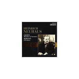 DENON 海恩利許.紐豪斯(Heinrich Neuhaus)/俄羅斯鋼琴家名盤選42 - 蕭邦:馬厝卡舞曲、夜曲/德布西:八首前奏曲【1CD】