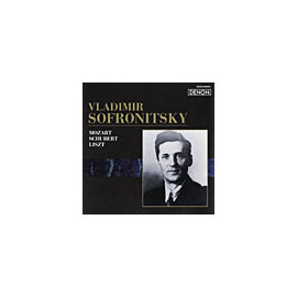 DENON 索弗羅尼斯基(Vladimir Sofronitsky)/俄羅斯鋼琴家名盤選43 - 莫札特:幻想曲K.475/舒伯特:樂興之時/李斯特:巡禮之年選段【1CD】