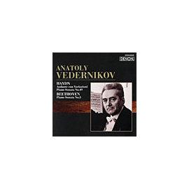 DENON 阿納托里.維達尼可夫(Anatoly Vedernikov)/俄羅斯鋼琴家名盤選 47 - 海頓:行板的主題變奏曲、第49號鋼琴奏鳴曲/貝多芬:第三號鋼琴奏鳴曲【1CD】