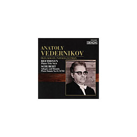 DENON 阿納托里.維達尼可夫(Anatoly Vedernikov)/俄羅斯鋼琴家名盤選 49 - 貝多芬:第六號鋼琴三重奏/舒伯特:慢板與輪旋曲、第14號鋼琴奏鳴曲D.784【1CD】