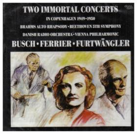 DANACORD 布拉姆斯:女低音狂想曲、貝多芬:交響曲第5號[Two Immortal Concerts in Copenhagen]【1CD】