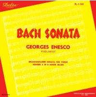 DELTA 恩奈斯可(Georges Enesco)/巴哈、舒伯特、恩奈斯可:小提琴小品集【1CD】