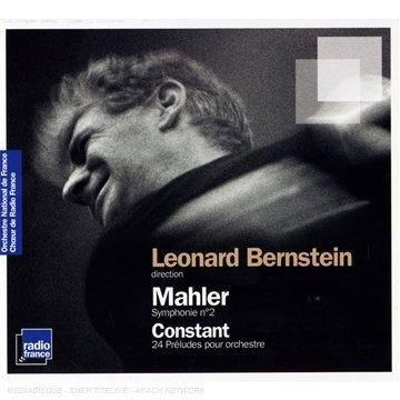 radio france 伯恩斯坦(Leonard Bernstein)/馬勒:第2號交響曲,etc.(Mahler:Symphony No.2 / Constant:24 Preludes)【2CDs】