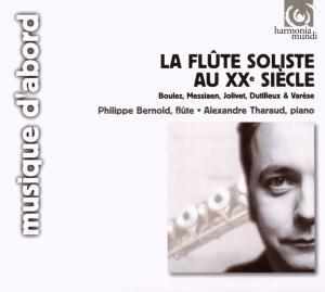 harmonia mundi 班諾德(Philippe Bernold) & 薩洛(Alexandre Tharaud)/二十世紀長笛獨奏作品集[La Flûte soliste au 20e siècle]【1CD】