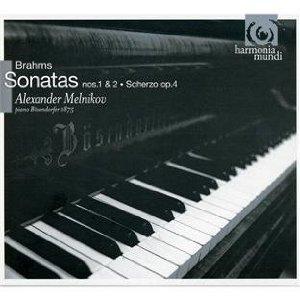 【小閔的古典音樂世界】harmonia mundi 梅尼可夫(Alexander Melnikov)/布拉姆斯:鋼琴奏鳴曲第1號 & 第2號、詼諧曲[Brahms: Piano Sonata No.1 & 2、Scherzo]【1CD】