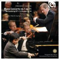 harmonia mundi 辻井伸行(Nobuyuki Tsujii)/蕭邦:鋼琴協奏曲第1號[Chopin : Piano Concerto No. 1]【1CD】