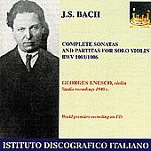 IDIS 恩奈斯可(Georges Enesco)/巴哈:無伴奏小提組曲與奏鳴曲全集【2CDs】