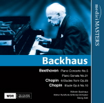medici MASTERS 巴克豪斯&蕭提(Wilhelm Backhaus & Georg Solti) /貝多芬:第5號鋼琴協奏曲、第21號鋼琴奏鳴曲/蕭邦:7首練習曲【1CD】
