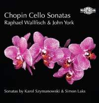 NIMBUS 沃爾費許(Raphael Wallfisch)/蕭邦、拉克斯、齊瑪諾夫斯基:大提琴奏鳴曲[Chopin、Laks、Szymanowski: Cello Sonatas]【1CD】