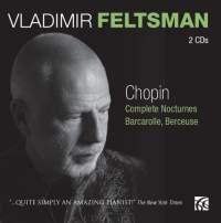 NIMBUS 費爾茲曼(Vladimir Feltsman)/蕭邦:夜曲全集、船歌、搖籃曲[Chopin: Complete Nocturnes, Barcarolle & Berceuse]【2CDs】