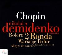 NIFC 德米丹可(Nikolai Demidenko)/蕭邦群英錄:德米丹可 - 唐喬望尼變奏曲、輪旋曲、搖籃曲、波蘭舞曲 等[Chopin:Ronda, Allegro de concert, Wariacje B-dur, Berceuse]【1CD】