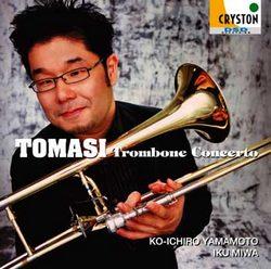 【小閔的古典音樂世界】CRYSTON 山本浩一郎(Koichiro Yamamoto)/托馬西: 長號協奏曲[Tomasi: Trombone Concerto]【1CD】