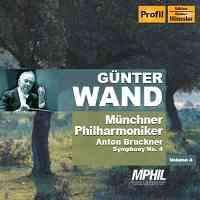 Profil 汪德(Günter Wand)/布魯克納:交響曲第4號[Bruckner: Symphony No. 4]【1CD】