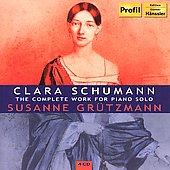 Profil 葛玉慈曼(Susanne Grützmann)/克拉拉.舒曼鋼琴獨奏作品全集[Clara Schumann:The Complete Work for Piano Solo]【4CDs】